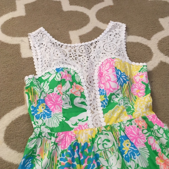 lilly pulitzer dresses lilly pulitzer reagan dress in hibiscus stroll