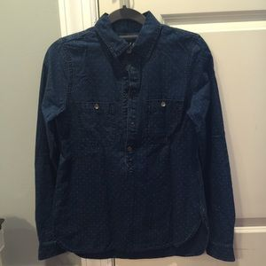 Madewell denim shirt, Size XS