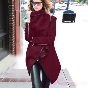 Jackets & Blazers - Wool blend wrap jacket coat