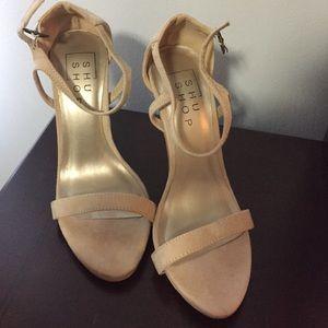 ShuShop Shoes - Nude sandals