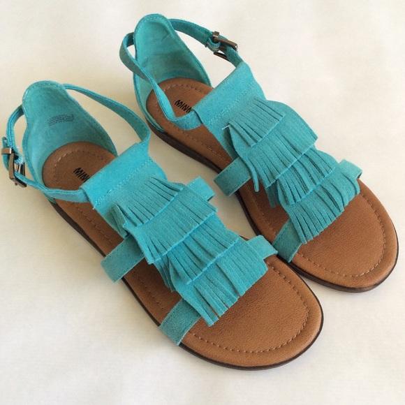 Blue Maui Poshmark ShoesAqua Fringe Minnetonka Sandals Ifg7Ybyv6