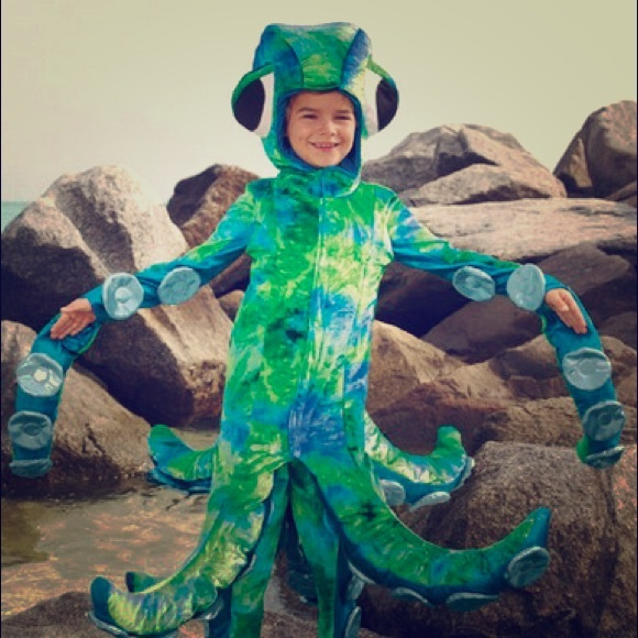Wishcraft Octopus Chasing Fireflies Costume Kids 8  sc 1 st  Poshmark : kids octopus costume  - Germanpascual.Com