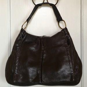 49 SQUARE MILE Leather Handbag