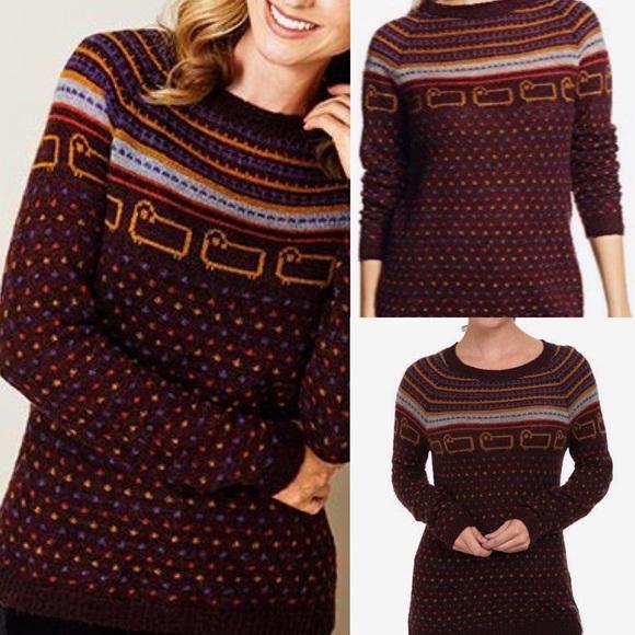 75% off Urban Outfitters Sweaters - NWT woolrich bateau fair isle ...