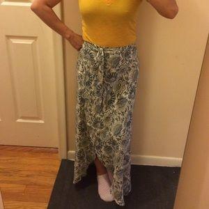 WAYF long maxi wrap skirt. BNWT.