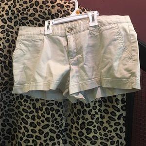 Beige 3inch seamed shorts