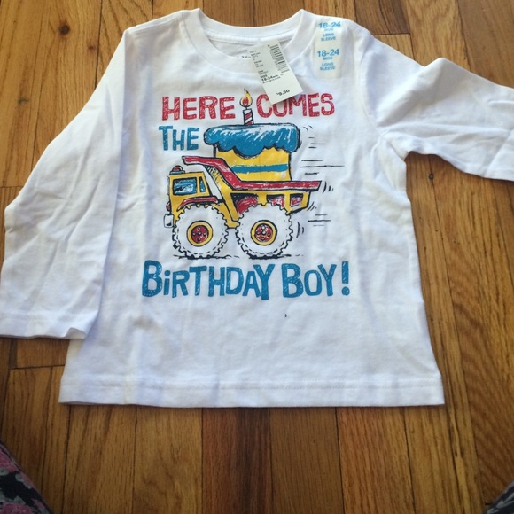 18 24 MOS Childrens Place Birthday Shirt