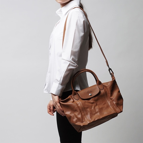 4cd91945235e Longchamp Brown Crossbody Bag