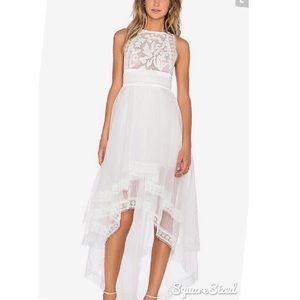 Asilio Dresses & Skirts - Asilio welcome to the dollhouse dress in white