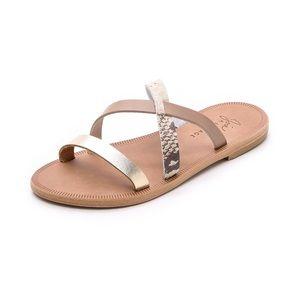 NWOT Joie A La Plage Flat Strappy Slide Sandals
