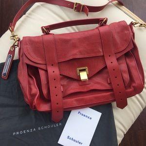 Proenza Schouler Handbags - Proenza Schouler PS1 Medium in Lipstick Red
