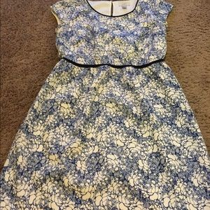 LOFT Dresses & Skirts - Loft Sundress Blue and White A-Line