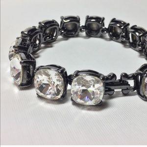 Kenneth Jay Lane crystal bracelet