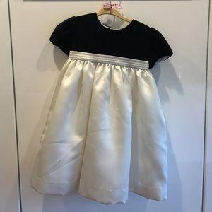 Luli & Me Other - Luli & Me Black White Party Dress 24 m NWOT