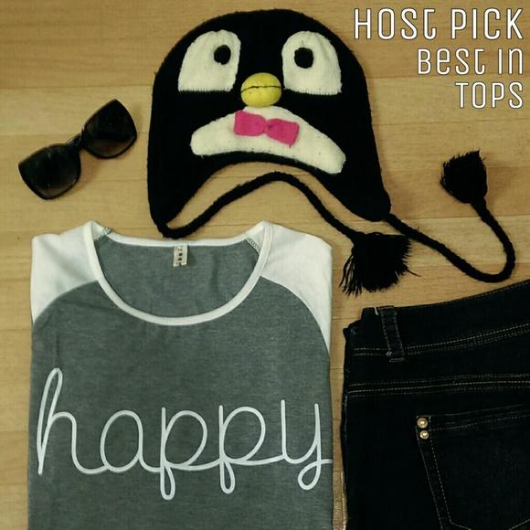 Tops - Happy Shirt 🐧