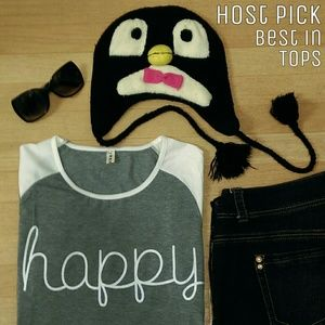 Tops - Happy Shirt 🐧