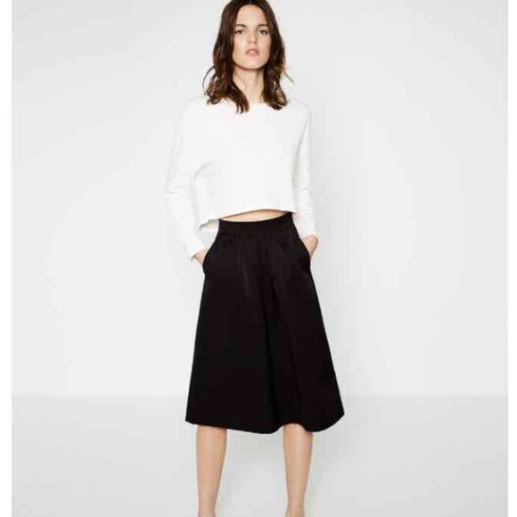 Zara - NWT Zara Cropped Jacquard Sweater from Shop everthing ...