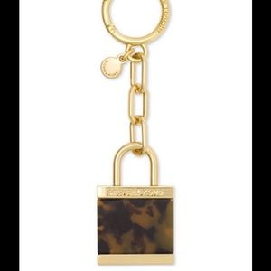 Michael Kors Accessories - Michael Kors Extra Large Lock Charm Key Ring NWT