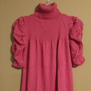 Sophie Max Tops - Pink shirt sleeved top