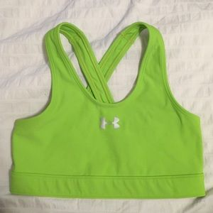 Under Armour Tops - Lime Green sports bra