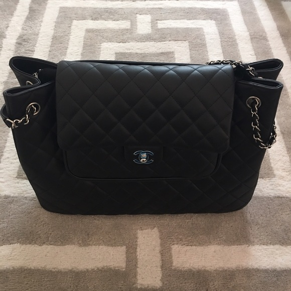 98dc674df31233 CHANEL Bags | Brand New 30cm Black Caviar Shopping | Poshmark
