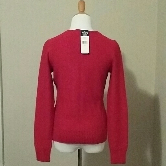 82% off Chaps Sweaters - Chaps Red Sweater from Carmen's closet on ...