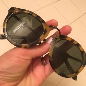 Karen Walker Harvest Tort Sunglasses