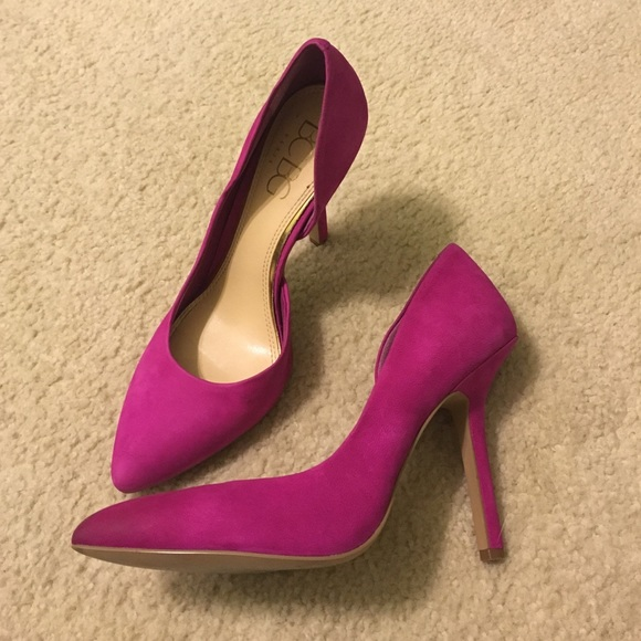 80% off BCBG Shoes - BCBG Bright Purple Heels from Laura&39s closet