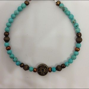 Jewelry - Turquoise 🎋Good Fortune Bracelet/ Anklet