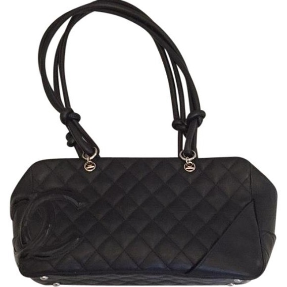25990deff2a5 CHANEL Handbags - Chanel Calfskin Cambon Ligne Quilted Bowler Bag
