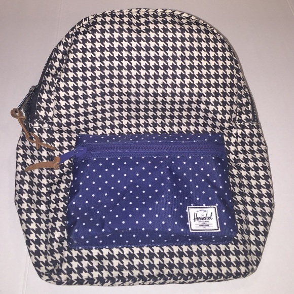 cf5fe044fd Herschel Supply Company Handbags - New Herschel Supply Houndstooth Polka  Dot Backpack