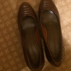 Banana republic platform Shoe