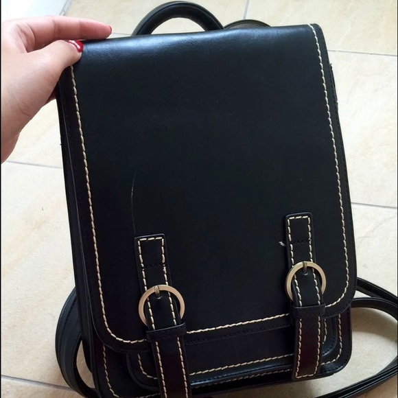 hard leather backpack Backpack Tools
