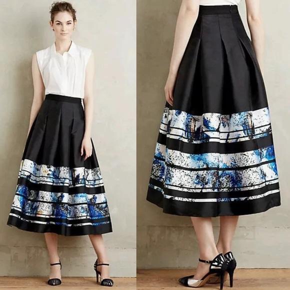 9a9ee8f61 Sachin + Babi Skirts | Clearancesachin Babi Midi Brushstroke Skirt ...
