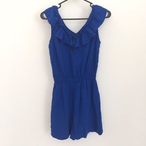 Pants - Adorable blue romper