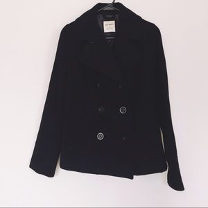 Old Navy Jackets & Blazers - Old Navy pea coat: wool infused and fitted