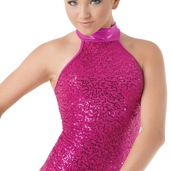 1093aa0072fc65 Balera Tops - Balera AS SEQUIN   METALLIC HALTER TOP dance