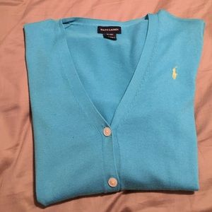 Ralph Lauren polo cardigan 2 colors to choose from