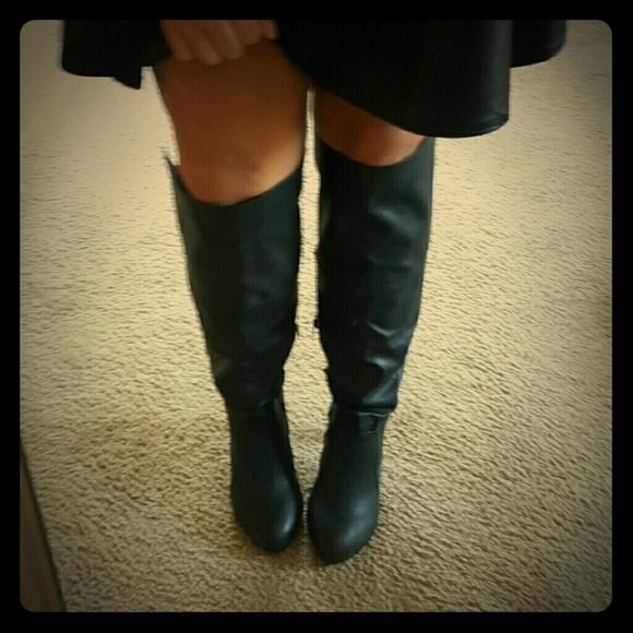 Torrid Over Knee Heeled Boot