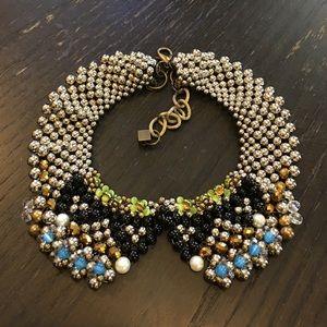 Anthropologie Pam Hiran Sparkle Agate Collar