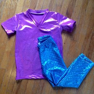 "Mermaid/Merman ""Rainbow Fish"" costume"