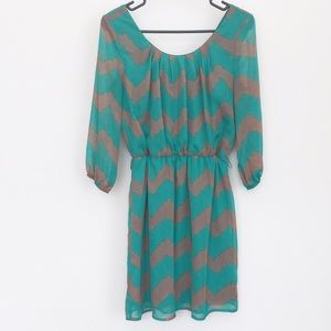 Charlotte Russe Dresses & Skirts - Chevron dress