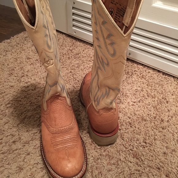 46% off Ariat Shoes - Slight used, Ariat boots size 6 from ...