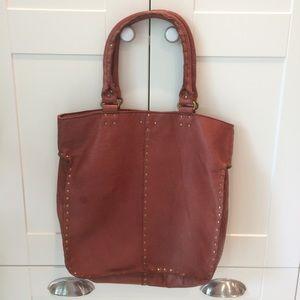 Linea Pelle Handbags - Linea Pelle Nico Tote w/ pouch