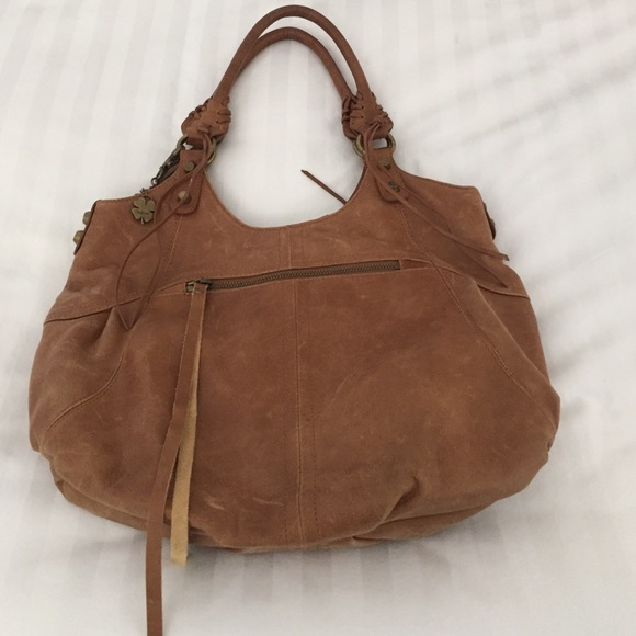 70% off Handbags - Lucky Brand Distressed Leather bag from ...