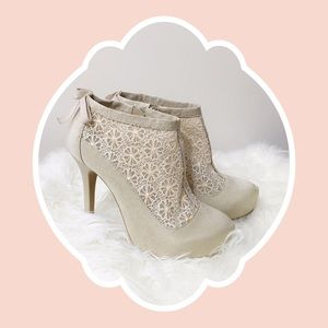 ASOS Tornado Lace Ankle Boot