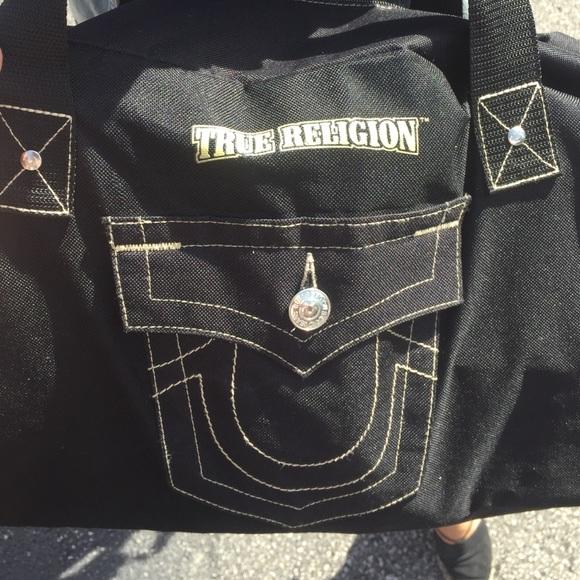 True Religion mini duffel. M 57dc32e92599fe39e4007b73 8f3fa80c5bb25