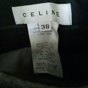 High end wool trousers - CELINE SZ 38