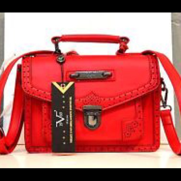 7b63dbcc26 Versace Italy Rouge Crossbody bag NWT