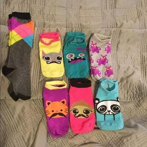Pink Cookie Other - 7 pairs of girls socks
